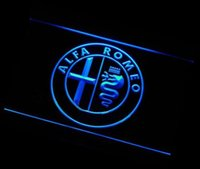alfa lighting parts - ys Alfa Romeo Car Services Parts ADV LED Neon Light Sign