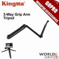 Wholesale Gopro Monopod Accessories New way Grip Arm Tripod for GoPro Hero Hero SJ4000 SJ5000 Mini Camcorder or Cameras