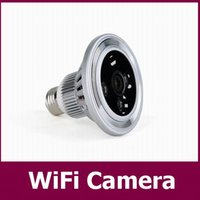 angle window - 120 ultra wide angle Lamp WIFI Camera HD P fps High Clear Mini Camera remote Control by Iphone IOS Android Windows Home Security DVR