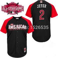 american marking - 30 Teams New American League All Star Derek Jeter Mark Teixeira Dellin Betances Mens Authentic Baseball Jersey Cool Base