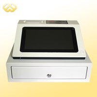Wholesale POS0901 Durable POS Cash Register Red Design