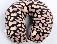 Wholesale Massage pillow for cervical vertebra U type pillow Optional colors