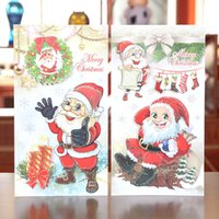 christmas cards - Party Supplies Christmas Decoration Greeting card for teacher friends children girt cards best wish merry christmas hot sale free DHL PX0140