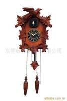 Wholesale Yantai Factory Outlet European wooden cuckoo clock chime MX231