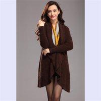 mink cashmere - Mink Cashmere Shawl Cardigan of Women s Winter Cashmere Shawl Coat Fashion Mink Cashmere Shawl Cardigan L012