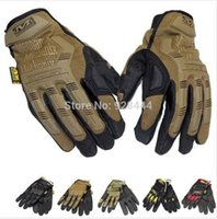 Wholesale Mechanix wear Tactical Combat Airsoft Paintball Glove Outdoor Sports Hunting Motorcyle Racing Bike Cycling