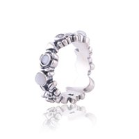 Wholesale 925 sterling silver gold rings gemstone rings pearl rings fashion ring guaranteed sterling silver rings for women RIP003