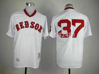 authentic bills - 2015 New new Coolbase boston red sox Bill Lee jersey cheap sport MLB baseball men s throwback authentic stitched white shirt