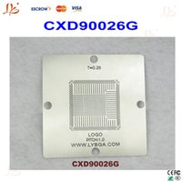 Wholesale New arrival BGA Reballing Stencil mm mm PS4 Stencil CXD90026G pitch mm for mm solder ball matching