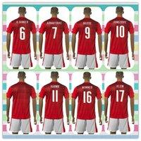 austria products - New Product Uniforms Kit Austria European ARNAUTOVIC OKOTIE JUNUZOVIC HARNIK Red Soccer Jersey futbol Jerseys
