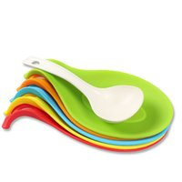 arrival rubber pad - New Arrivals Spoon Holder Dinnerware Pad Kitchen Gadgets Cooking Tool Silicone Size CM JA42