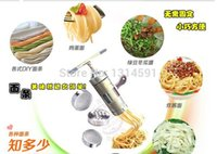 Wholesale Stainless Steel Noodle Maker With Models Manual Noodle Press Pasta Machine Kitchen Tools Juicer maquina de massa