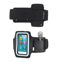 Wholesale New Arrival Sport Running Armband Cover Case For iPod Nano with Earphone Hole Key Pocket