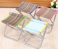Wholesale 2689 small portable folding stool chair fishing stool stool Mazar station folding chairs mesh chairs