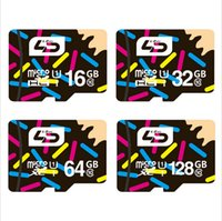 Wholesale 100 Real capacity LD Micro SD Card Memory Card GB GB GB GB GB GB TF TransFlash Card class for cellphone