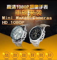 Wholesale Mini Watch Cameras WristWatch C5 HD1080P Spy Camera watches Night Vision Audio Video Voice Recorder watches Quartz movement G