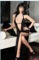 belly dancer dress - Sexy Lingerie Night Dancer length skirt uniform temptation black lady dress foreign trade dress hotels