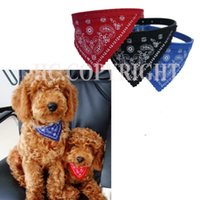 bandages for dogs - PC Cute Pet Dog Triangular Bandage Binder Necklet Belt Collar Saliva Towels With Buckle For most Pet Dogs