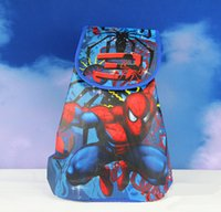 Cheap Spider Man School Bag Best Avengers Backpacks