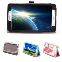 Wholesale US Stock Samsung Galaxy Stand Case Tablet Case Inch PU Leather Awake Sleep Stand Case Cover for Samsung Galaxy Tab quot T230