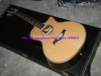 12 string acoustic guitar - Luxury string Guitars Acoustic Guitar Custom Shop Natural Guitar Factory from china