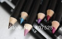 Wholesale set Color Cosmetics Makeup Pen Waterproof Eyebrow Eye Liner Lip Eyeliner Pencil