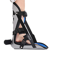 ankle support boot - Medical Nightime Adjustable Ankle Foot Orthosis Foot Drop Plantar Support Brace Fasciitis Splint Boot