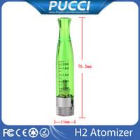 Cheap Replaceable gs h2 atomizer Best 2.0ml Plastic gs h2