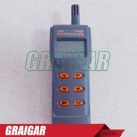 Wholesale AZ77597 Handheld Combo Carbon Dioxide Carbon Monoxide CO2 CO Detector CO2 CO RH Temperature Meter Metory USB Output