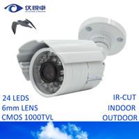 video surveillance - Security Camera CMOS TVL HD Mini CCTV Camera Waterproof Night Vision Infrared IR Bullet DVR Inspect Video Surveillance Camera AC09 W