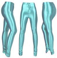 american apparel disco pants - Womens Sexy Disco Pants American High Waist Glossy Pants New Apparel AA Pants Solid Gym Women Leggings Size Plus XL