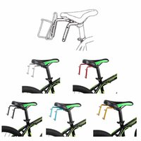 bicycle dual bottle cage - Bicycle Accessories Aluminum Alloy MTB Bike Bicycle Cycling Double Dual Water Bottle Cages Holder Shelf
