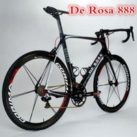 carbon fiber bicycle frame - De Rosa carbon fiber bicycle frame road bike carbon fiber bicycle frame Bicycle mechanical DI2 see full carbon