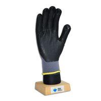 Wholesale 1418 Black foam nitrile coated gloves