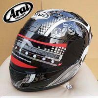 arai motocross helmets - New Arrive Motorcycle helmets Japan Arai Skull full face helmet motocross helmet capacete motorcycle DOT safety certificate