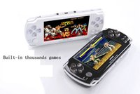 Wholesale 2015 Cheap quot LCD Game Console PMP MP4 MP5 Player GB Free games Media Player AV Out FM with Camera With Real Package
