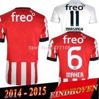 memphis - Eindhoven Jersey De Jong Maher Memphis Depay Stijn Schaars14 Eindhoven Soccer Jersey Camisa de futebol