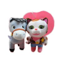 Wholesale Cute Sheriff Callie s Wild West Pony Stuffed Doll Plush Toys Kids Gift