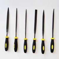 Wholesale R DEER mm Woodworking File Set Square Round Triangle Flat Needle Carving Craft Tool