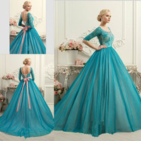 Wholesale Half Sleeves Ball Gown Quinceanera Dresses New Arrival Lace Tulle Plus Size Backless Cheap Sweet Dresses Prom Dresses Corset Lace Up
