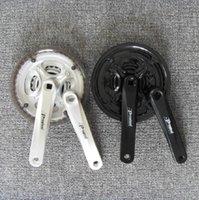 Cheap free shipping Prowheel mountain bike crankset 7 - 8 - 9 bicycle tooth plate silver black