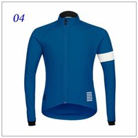 Wholesale STYLE Rapha Cycling Jerseys Long Sleeves Winter Thermal Fleece Bike Wear Comfortable Breathable Hot New Rapha Jerseys