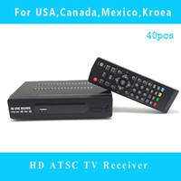 Cheap Mexico USA Canada Korea HD ATSC Receiver TV BOX Full HD 1080p Digital TV Converter Box