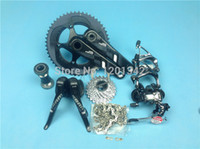 Road Bikes sram - SRAM Force Original groupset Speed Black ultegra road bicycle bike groupset mm mm GXP BB30 is available