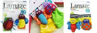 3 styles! Hot Lamaze hochet pied finder bébé jouet pied Sock infantile jouets en peluche gratuite 20PCS d'expédition / LOT