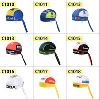 cycling hat - 2015 Saxo bank tinkoff Bike Cycling cap Sun scarf hat Bicycle riding sports hat Convenient and practical bicycle hood