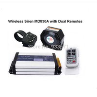 CCC electronic siren - MD830A W Wireless Car Electronic Siren with Microphone Sounds W Siren W Speaker Dual Remote Controllers