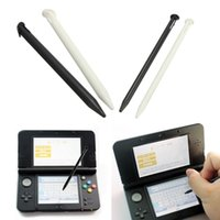 Wholesale NEW Stylus Plastic LCD Touch Screen Pen for new for Nintendo DS LL Professional Precision Black White order lt no track