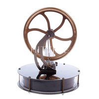Wholesale Funny Low Temperature Stirling Engine Motor Model Cool No Steam Education Toys Kit