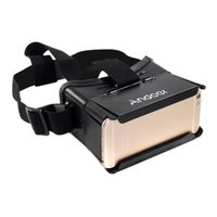 Wholesale Universal D Vr Virtual Reality DIY Video Movie Game Glasses for quot Smartphone Google Oculus Rift Head Mount with Headband V897